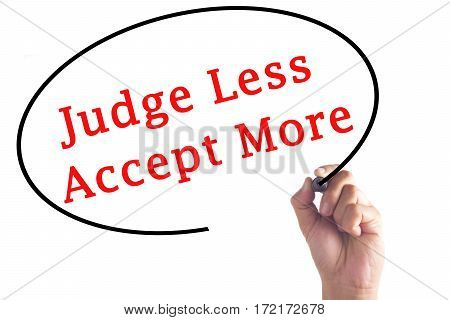 Hand Writing Judge Less Accept More On Transparent Board