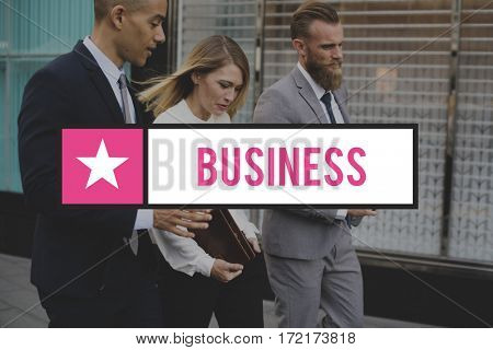 Business Colleagues Corporate Start Up Icon