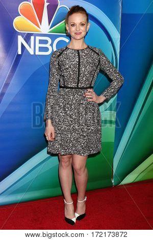 LOS ANGELES - JAN 18:  Jayma Mays at the NBC/Universal TCA Winter 2017 at Langham Hotel on January 18, 2017 in Pasadena, CA