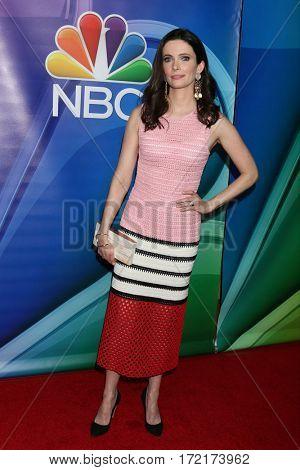 LOS ANGELES - JAN 18:  Bitsie Tulloch at the NBC/Universal TCA Winter 2017 at Langham Hotel on January 18, 2017 in Pasadena, CA