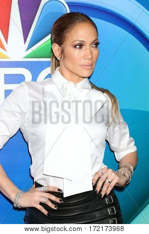 LOS ANGELES - JAN 18:  Jennifer Lopez at the NBC/Universal TCA Winter 2017 at Langham Hotel on January 18, 2017 in Pasadena, CA