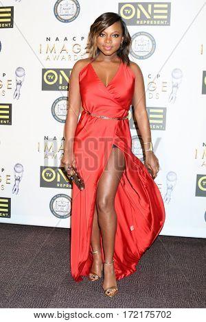 LOS ANGELES - FEB 10:  Naturi Naughton at the Non-Televisied 48th NAACP Image Awards at Pasadena Conference Center on February 10, 2017 in Pasadena, CA