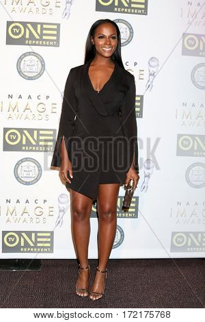 LOS ANGELES - FEB 10:  Tika Sumpter at the Non-Televisied 48th NAACP Image Awards at Pasadena Conference Center on February 10, 2017 in Pasadena, CA
