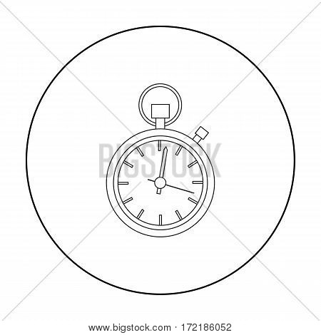 Stopwatch icon of vector illustration for web and mobile design