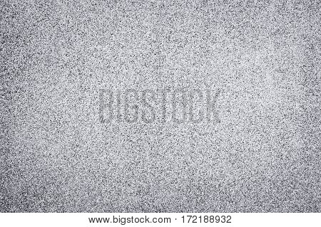 Background and texture of decoration white terrazzo floor.