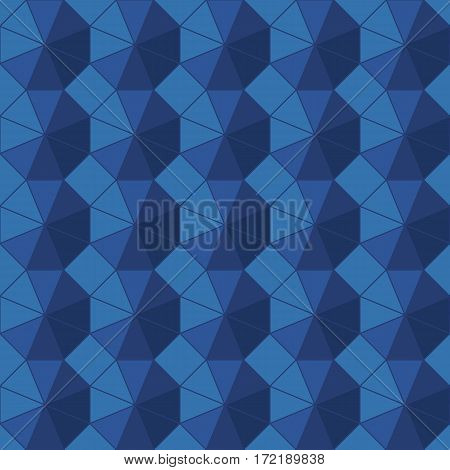 Vector seamless background. Geometric ornament pattern with repeating elements.