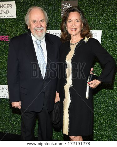 LOS ANGELES - FEB 16:  George Schlatter and Jolene Brand arrives for the An Unforgettable Evening on February 16, 2017 in Beverly Hills, CA