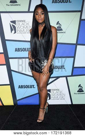 LOS ANGELES - FEB 09:  Normani Kordei arrives for the ESSENCE 8th Annual Black Women In Music on February 9, 2017 in Hollywood, CA