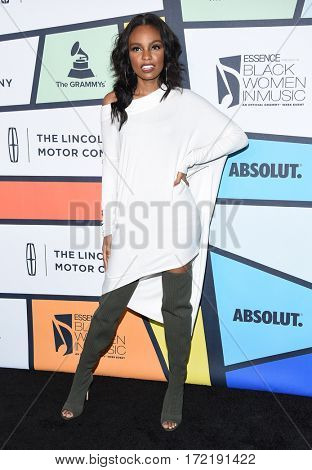 LOS ANGELES - FEB 09:  Sierra McClain arrives for the ESSENCE 8th Annual Black Women In Music on February 9, 2017 in Hollywood, CA