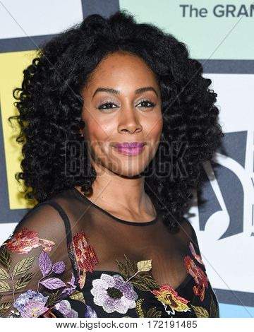 LOS ANGELES - FEB 09:  Simone Missick arrives for the ESSENCE 8th Annual Black Women In Music on February 9, 2017 in Hollywood, CA