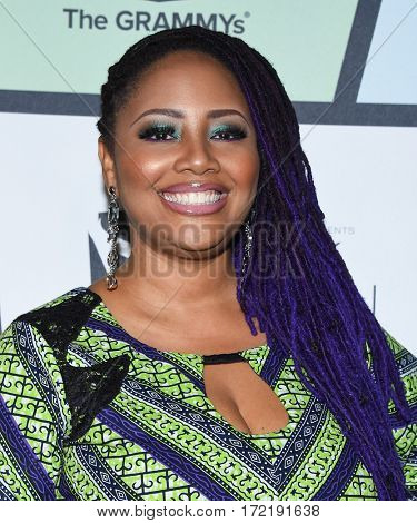 LOS ANGELES - FEB 09:  Lalah Hathaway arrives for the ESSENCE 8th Annual Black Women In Music on February 9, 2017 in Hollywood, CA
