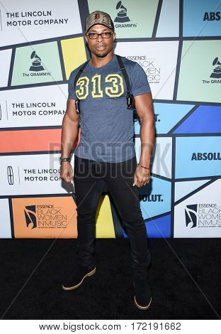 LOS ANGELES - FEB 09:  Cornelius Smith Jr. arrives for the ESSENCE 8th Annual Black Women In Music on February 9, 2017 in Hollywood, CA
