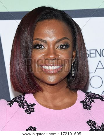 LOS ANGELES - FEB 09:  Kandi Burruss arrives for the ESSENCE 8th Annual Black Women In Music on February 9, 2017 in Hollywood, CA