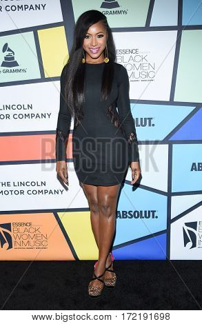 LOS ANGELES - FEB 09:  Gabrielle Dennis arrives for the ESSENCE 8th Annual Black Women In Music on February 9, 2017 in Hollywood, CA