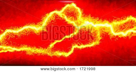 Abstract Of Electrical Glow4
