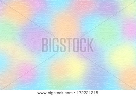 Colorful textured rough wry carved lines on surface symmetric background red orange yellow green blue purple