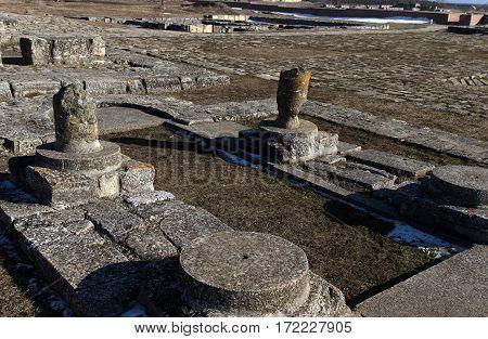 Pliska Palace Ruins