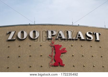 Berlinale Logo, Zoo Palast Cinema, Berlin
