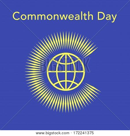 Commonwealth Day Vector