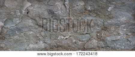 Natural Stone Texture Seamless Grunge Background Obsolete