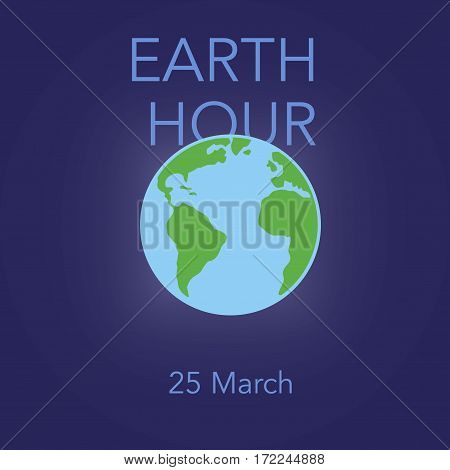 Poster For Earth Hour
