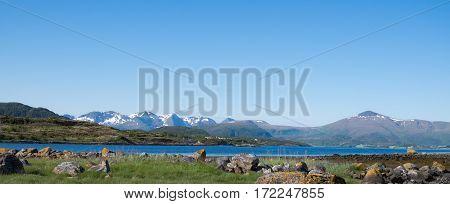A beautiful landskap on the west coast of Norway