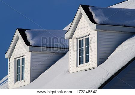 house windows roof architecture skylight hut blue