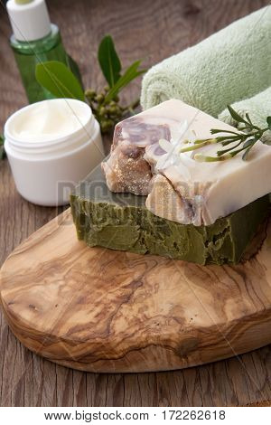 Handmade Organic Soap And Face Cream