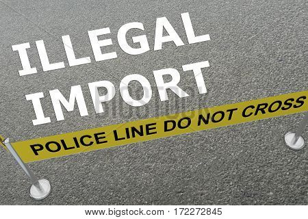 Illegal Import Concept
