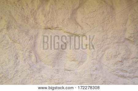 background light rough stone wall whitewash relief