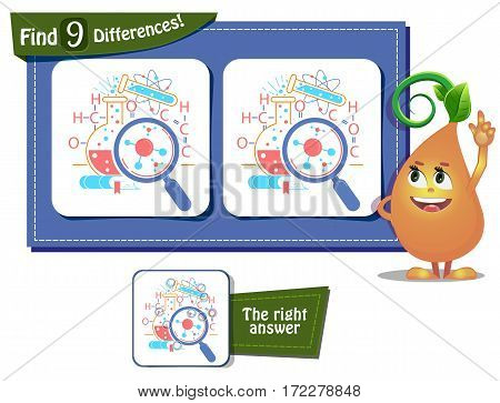 Science Day Game 9 Differences