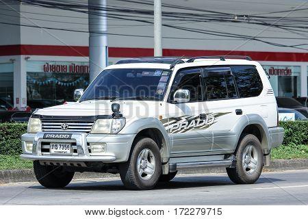 Private Suv Car, Toyota Prado