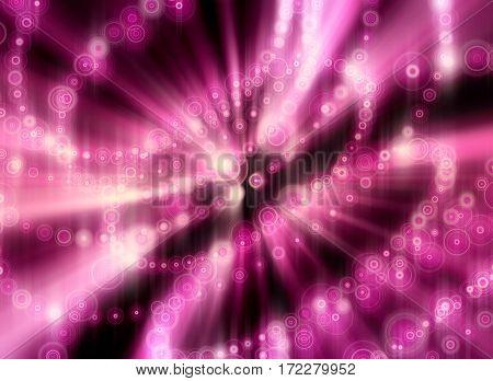 Glitter vintage lights background. Neon shine disco particles. Spiral twist
