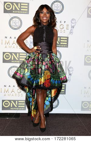LOS ANGELES - FEB 10:  DeWanda Wise at the Non-Televised 48th NAACP Image Awards at Pasadena Conference Center on February 10, 2017 in Pasadena, CA