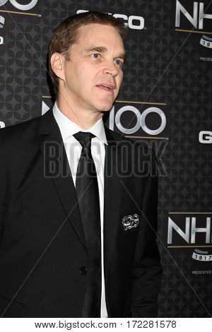 LOS ANGELES - JAN 27:  Luc Robitaille at The NHL100 Gala at Microsoft Theater on January 27, 2017 in Los Angeles, CA