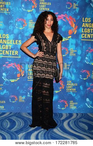 LOS ANGELES - SEP 24:  Ziah Colon at the Los Angeles LGBT Center 47th Anniversary Gala Vanguard Awards at the Pacific Design Center on September 24, 2016 in West Hollywood, CA
