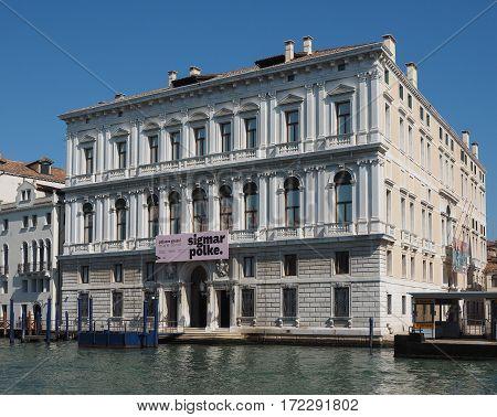 Palazzo Grassi In Venice
