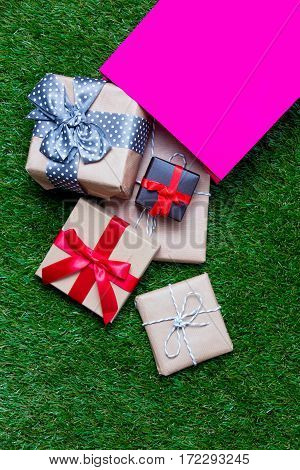 Shopping Bag And Gifts