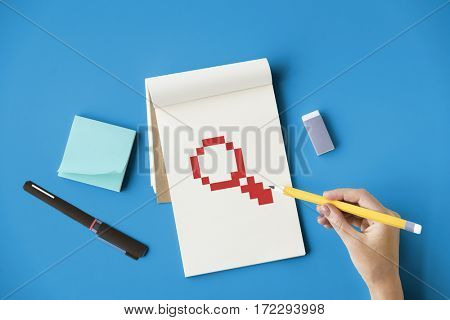 Search Magnifying Glass Graphic Design Icon