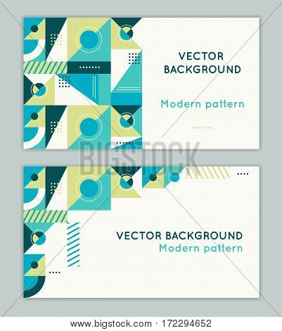 Vector Abstract Business Card Design