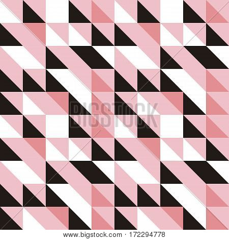 Vector Abstract Seamless Pattern In Trendy Modern Minimal Style