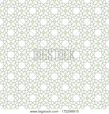 Seamless geometric pattern for your designs and backgrpounds. Modern ornament with repeating elements