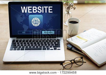 Website Internet Online Technology Icon Word