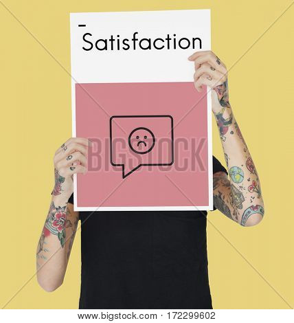 Review Evaluation Satisfaction Customer Service Feedback Sign Icon