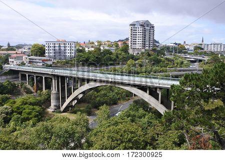 Grafton Road Bridge Auckland New Zealand