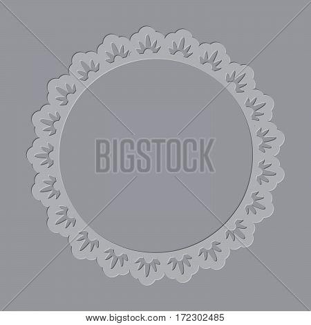 Ornate Letterpress Frame