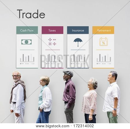 Accounting Trade Economy Financial Icon