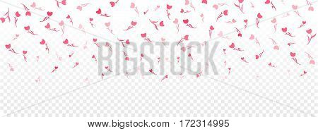 Happy woman's day, Easter, mothers day. Girl and women family design. Vector tiling header with tulips. Spring pattern