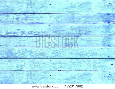 Blue wood textrue background use for design .