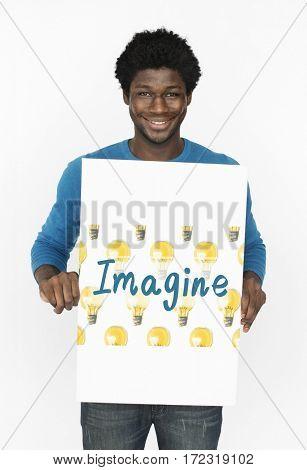 Imagine Light Bulb Ideas Icon